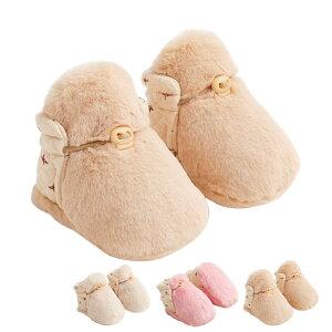 ベビーニットブーツ 赤ちゃん ファーストシューズ 新生児 ソフトスノーブーツ 幼児靴 室内履き 出かけベビールーム靴 出産祝い 秋冬