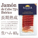 【送料無料】 イベリコ豚生ハム 最高級ハモンイベリコ24ヶ月以上熟成 40g