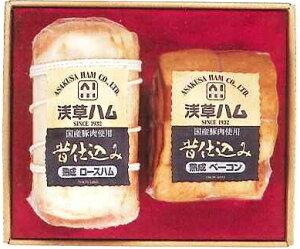 【送料無料/お歳暮、お中元などの贈り物に】浅草ハムギフト AJ−65B  浅草で生まれて70余年、伝統の味【楽ギフ_のし】