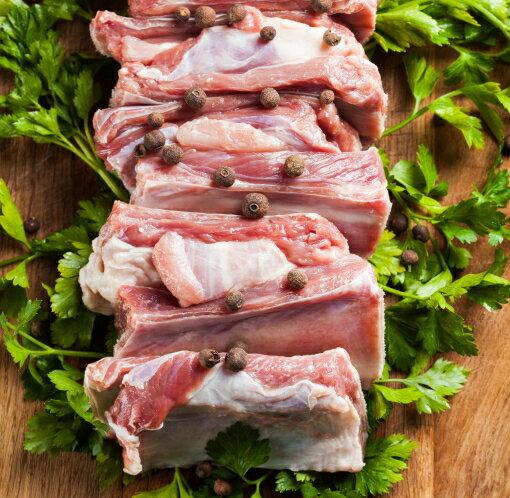 豚スペアリブ 300g以上 バーベQに最適!! 骨付きスペアリブ/スペアリブ/バーべキュー/BBQ