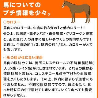 馬肉パラパラミンチ500g×2(1kg)送料込犬馬肉