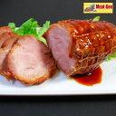 送料無料 江戸っ子焼豚1本350gお肉屋さんの手造り 豚肩ロース焼豚ブロック 【楽ギフ_包装】 】【楽ギフ_のし】チャー…
