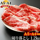 ギフト お歳暮 肉 牛肉 A4 〜 A5ランク 和牛 切り落とし すき焼き 1.2kg 400g×3 訳あり A5 A4 しゃぶしゃぶも 黒毛和…