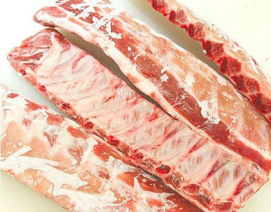 【量り売り】 バックリブ 豚スペアリブ 1本 1580円/kg