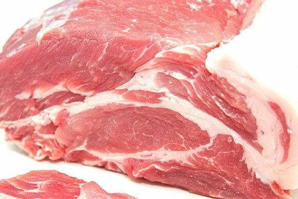 【量り売り】業務用北海道産肩ロース肉 ブロック※送料にご注意ください※ 1350円/kg
