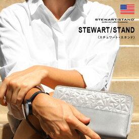 STEWART/STAND(スチュワート・スタンド)ジッパー・トラベル・ウォレット : 財布 長財布 レディース 小銭入れ レザー スキミング防止 光沢 プレゼント ギフト