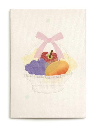 果物かごカード