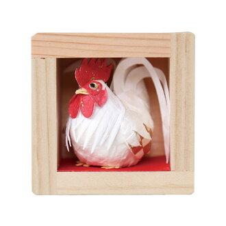 歳ます一番鶏_2017年のお正月飾り