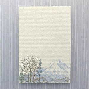 季節の絵はがき[冬]冬の富士