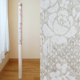 レースのような障子紙ローズ【幅94cm×長さ3.6m】(012212)