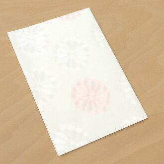 和紙クラフトカード・大婚礼角隠し