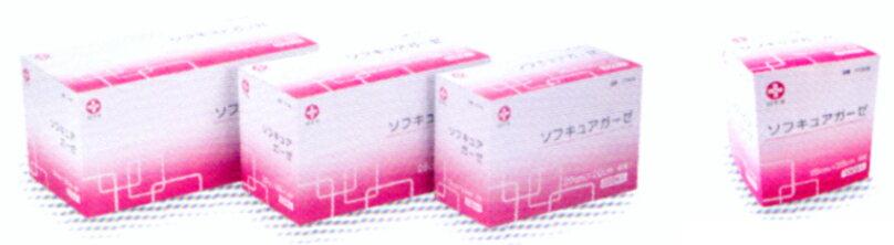 ソフキュアガーゼ 25x25 4折 200枚入 【一般医療機器】
