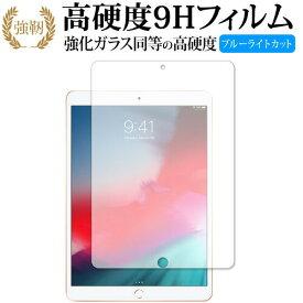 15日 ポイント5倍 iPad Air (第3世代・2019年発売モデル) 専用 強化 ガラスフィルム と 同等の 高硬度9H ブルーライトカット 光沢タイプ 改訂版 液晶保護フィルム メール便送料無料