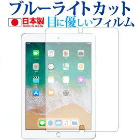 【ポイント10倍】Apple iPad 第5世代(9.7)、iPad 第6世代(9.7)機種用 専用 ブルーライトカット 反射防止 液晶保護フィルム 指紋防止 気泡レス加工 液晶フィルム 送料無料 メール便/DM便