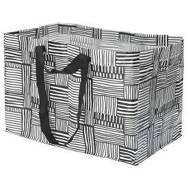 IKEA/イケア FISSLA フィスラ キャリーバッグ L ショッピングバッグ エコバッグ メール便送料無料 ポイント消化 ※持ち手にロゴなし