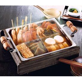 電気保温式おでん鍋 田楽亭 CS3-061214(電気保温おでん鍋 割蓋 家庭用 食卓用)
