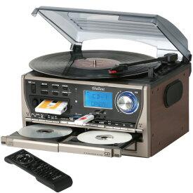 CDダビングコンパクトプレーヤー【送料無料】TCDR-921EC(ダブルCD|レコードプレーヤー|AM/FMラジオ(ワイドFM対応)|カセットデッキ|USB/SD)