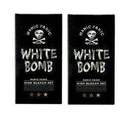 【2コセット】マニックパニック ホワイトボム ハイブリーチセット (ブリーチパウダー30g+オキシ6%90ml)(医薬部外品)