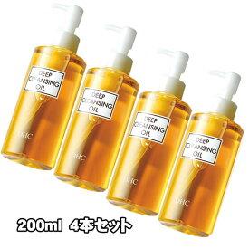 4本セット DHC 薬用ディープクレンジングオイル(L)200ml【医薬部外品】
