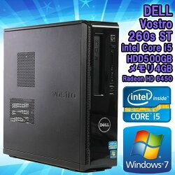 【中古】デスクトップパソコンDELL(デル)VOSTRO260sSTWindows7Corei524003.10GHzメモリ4GBHDD500GBDVDマルチドライブRadeonHD6450WPSOffice(KingsoftOffice)初期設定済送料無料(一部地域を除く)
