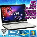 中古 ノートパソコン NEC LaVie LL750/F クリスタルホワイト Windows7 15.6インチ(1366×768) Core i7 2670QM 2.20GHz メモリ8GB HDD…