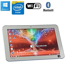 【中古】タブレット TOSHIBA dynabook Tab S80 Windows8.1 Pro 10.1インチ Atom Z3735SF 1.33GHz メモリ2GB eMMC32GB 無線LAN Bluetooth 初期設定済 送料無料(一部地域を除く)