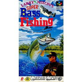 【中古】【箱説明書なし】[SFC]ラリー・ニクソン スーパー・バスフィッシング(LARRY NIXON'S SUPER Bass Fissing)(19940922)