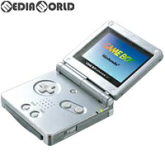 [the body] [GBA] Game Boy Advance SP GAMEBOY ADVANCE SP platinum silver  (AGS-S-ZVA)(20030214)