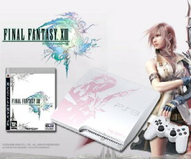 【中古】【B品】[本体][PS3]プレイステーション3 PlayStation 3 250GB FINAL FANTASY XIII LIGHTNING EDITION(ファイナルファンタジー13ライトニングエディション)(CEJH-10008)(20091217)