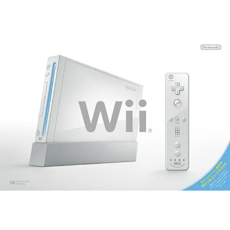 【中古】【B品】[本体][Wii]Wii(シロ)(Wiiリモコンプラス同梱)(RVL-S-WAAG)(20101111)