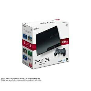 【中古】[本体][PS3]プレイステーション3 PlayStation3 HDD160GB チャコール・ブラック(CECH-3000A)(20110709)