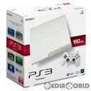 【中古】[本体][PS3]プレイステーション3 PlayStation3 HDD160GB クラシック・ホワイト(CECH-3000ALW)(20110908)...