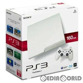 【中古】[本体][PS3]プレイステーション3 PlayStation3 HDD160GB クラシック・ホワイト(CECH-3000ALW)(20110908)