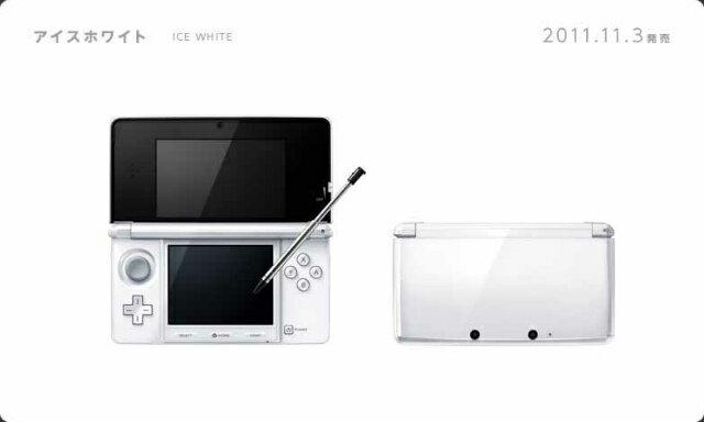【中古】[本体][3DS]ニンテンドー3DS アイスホワイト(CTR-S-WAAA)(20111103)