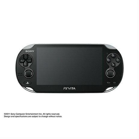 【中古】[本体][PSVita]PlayStation Vita Wi-Fiモデル クリスタル・ブラック(PCH-1000ZA01)(20111217)