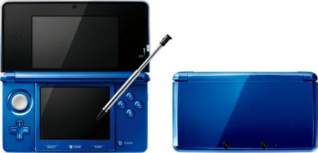 【中古】[本体][3DS]ニンテンドー3DS コバルトブルー(CTR-S-BBAA)(20120322)