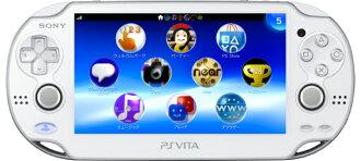 [본체][PSVita]PlayStation Vita 3 G/Wi-Fi모델 크리스탈・화이트(PCH-1100 AB02)(20120628)