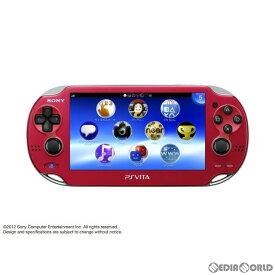 【中古】[本体][PSVita]PlayStationVita Wi-Fiモデル コズミック・レッド(PCH-1000ZA03)(20121115)