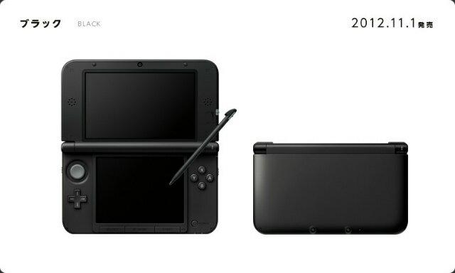 【中古】【B品】[本体][3DS]ニンテンドー3DS LL ブラック(SPR-S-KKAA)(20121101)