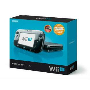 【中古】[本体][WiiU]Wii U プレミアムセット 黒 PREMIUM SET kuro(本体メモリー32GB)(WUP-S-KAFC)(20121208)