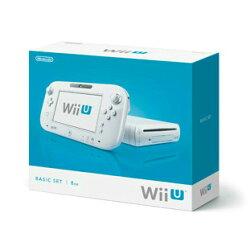 【中古】[本体][WiiU]WiiUベーシックセット白BASICSETShiro(本体メモリー8GB)(WUP-S-WAAA)(20121208)【RCP】