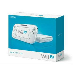 【最大ポイント10倍! 11月25日10時スタート!】【中古】[本体][WiiU]Wii U ベーシックセット 白 BASIC SET Shiro(本体メモリー8GB)(WUP-S-WAAA)(20121208)