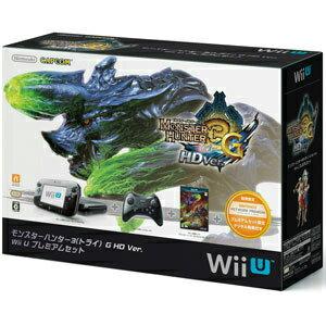 【中古】[本体][WiiU]モンスターハンター3(トライ)G HD Ver. Wii U プレミアムセット(WUP-S-KAFD)(20121208)