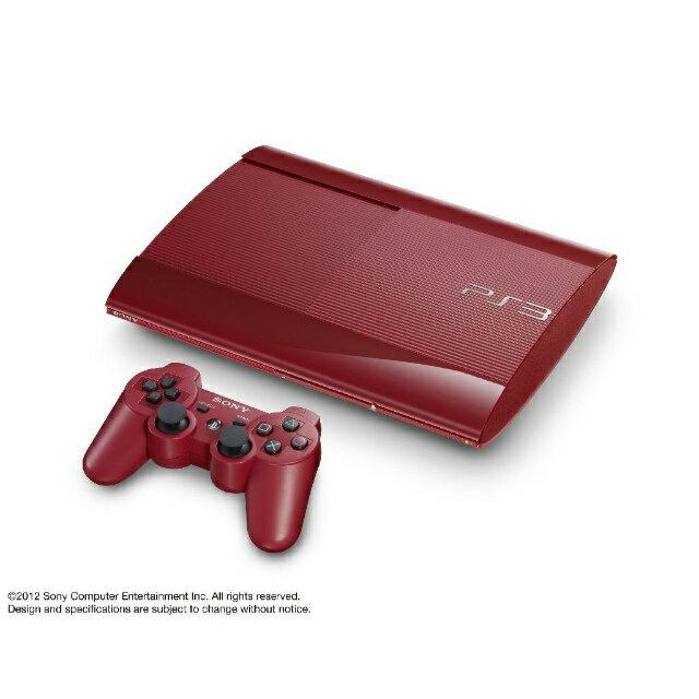 【中古】[本体][PS3]プレイステーション3 PlayStation3 HDD250GB ガーネット・レッド(CECH-4000BGA)(20130228)