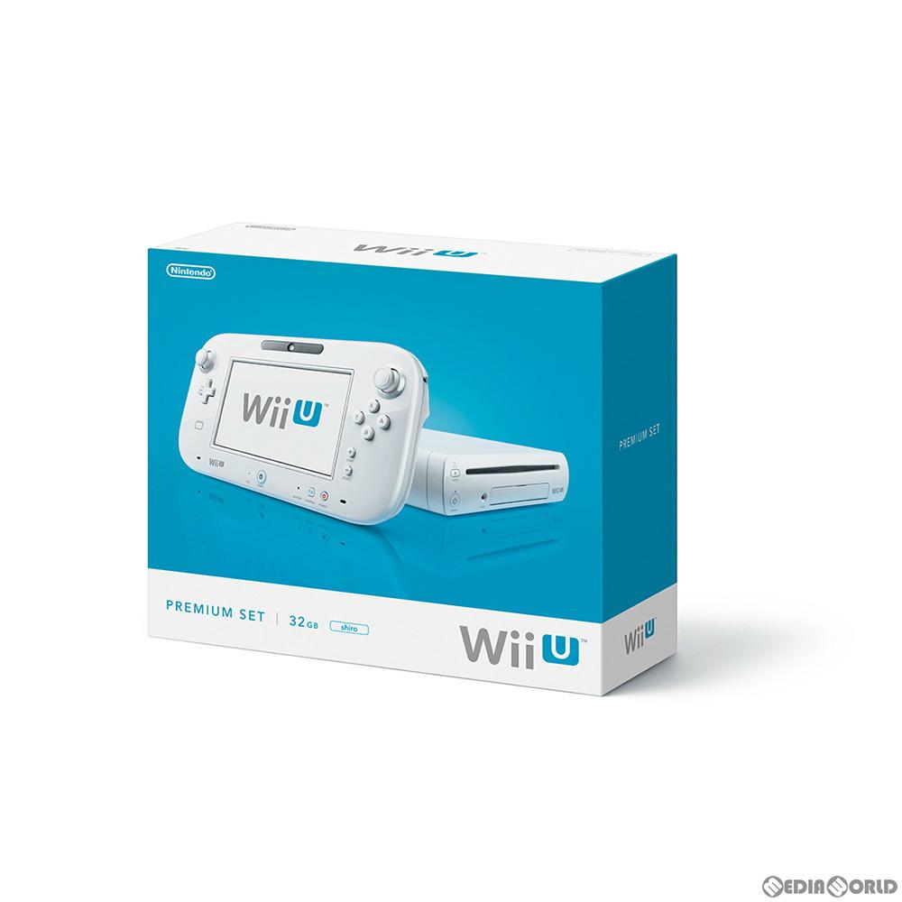 【中古】[本体][WiiU]Wii U プレミアムセット 白 PREMIUM SET shiro(本体メモリー32GB)(WUP-S-WAFC)(20130713)