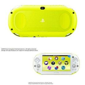 【中古】[本体][PSVita]PlayStationVita Wi-Fiモデル ライムグリーン/ホワイト(PCH-2000ZA13)(20131010)