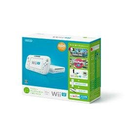 【中古】[本体][WiiU]Wii U すぐに遊べるファミリープレミアムセット+Wii Fit U(シロ)(WUP-S-WAFT)(20131031)