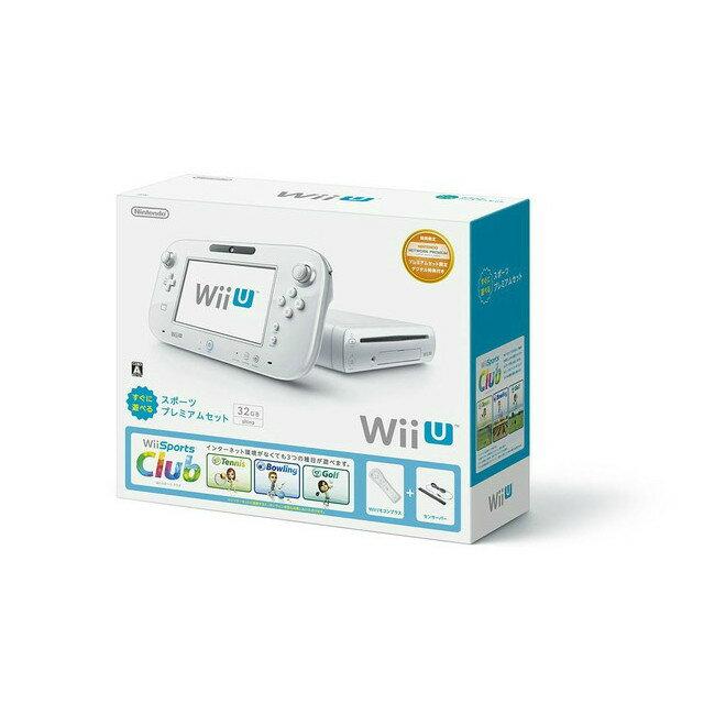 【中古】[本体][WiiU]Wii U すぐに遊べるスポーツプレミアムセット(WUP-S-WAFU)(20140327)