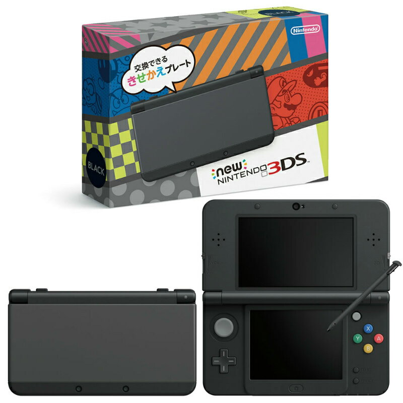【中古】[本体][3DS]Newニンテンドー3DS ブラック(KTR-S-KAAA)(20141011)