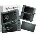 【中古】[本体][3DS]Newニンテンドー3DS LL メタリックブラック(RED-S-VAAA)(20141011)